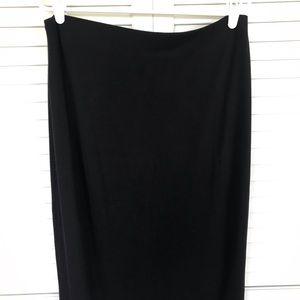 Old Navy Long Black Knit Skirt Size L